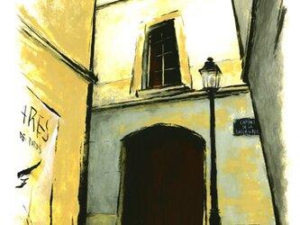 バルセロナの裏通りの画像