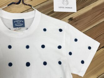 半袖Tシャツ 大ドットの画像