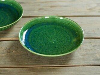 なます皿(6寸/緑)の画像