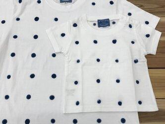 半袖Tシャツ 大ドット Lサイズの画像