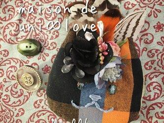 ネコぐるみブローチ No,006ミシェルの画像