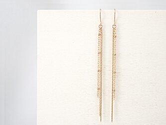 14KGF Chain Earringsの画像