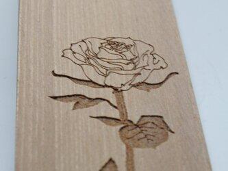ブックマーク_薔薇の画像