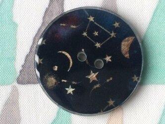 シェル&レジンボタン 星空 L 1015の画像