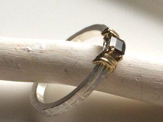 クロムエピドートのsilver&goldリングの画像