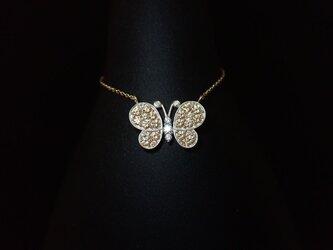 K10YG Papillon Necklace - 蝶々 -の画像