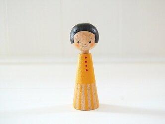 [conocokeshi]指人形・hand puppet[10]たんぽぽ色の画像