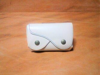 ルーズ財布 クリーム色の画像