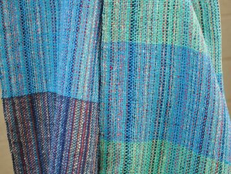 シルク手織マフラー3の画像