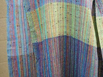 シルク手織ストールの画像