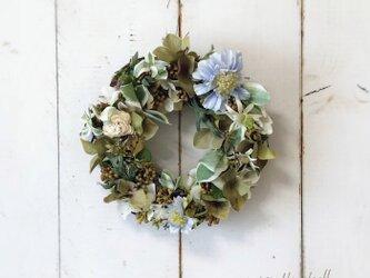 Natural wreath ・ミルクティーの画像