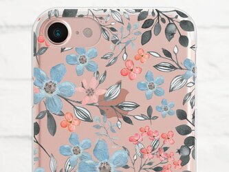 Floral クリアソフト ケースの画像