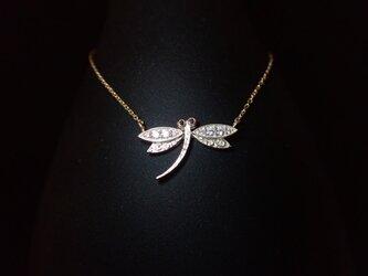 K10YG Libellule Necklace - トンボ -の画像