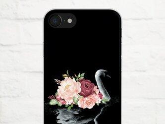 Black Swan iPhone クリアソフト ケースの画像