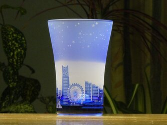 星降る港のタンブラー ~12星座  青(1個)の画像