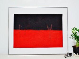 赤と黒のブルースの画像