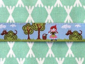 ドイツファーベミクス 刺繍リボン 1m-赤ずきんちゃんの画像