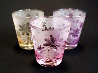 秋桜のシャボングラスの画像
