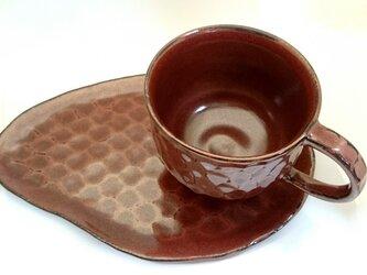 【おうちカフェ】しのぎのカップとプレートセットの画像