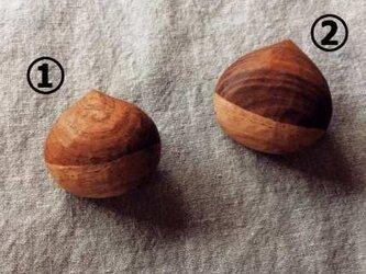 くりのブローチ②(右のもの)の画像
