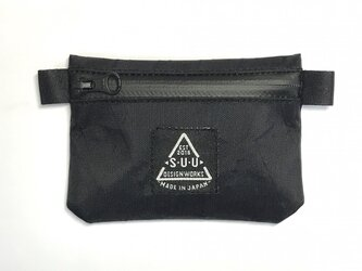 mini wallet : x-pac  vx21 Blackの画像