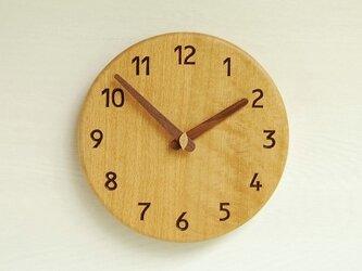直径23cm 掛け時計 オーク【1725】の画像