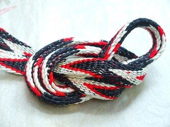 手組み正絹組紐【笹浪(3色)】099A017019の画像