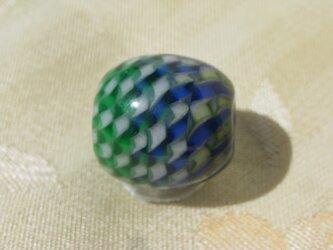 グラデーションレースのとんぼ玉の画像