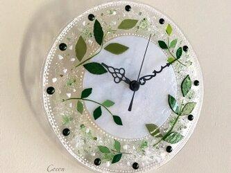 【即納】壁掛け時計(リーフ)の画像