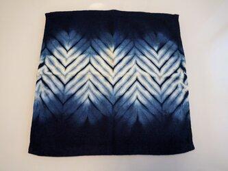 【再販】藍染 タオルハンカチ 山路の画像
