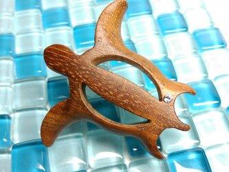 「ホヌ」ハワイアンコアのブローチ(送料込)の画像