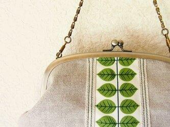 がまぐちバッグ - リーフ (Leaf)  -の画像