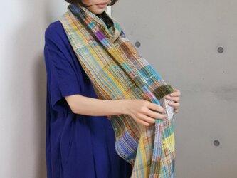 さをり織りショール(Oota Kouichi)の画像