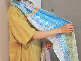 さをり織りショール(Okamura Moeka)の画像