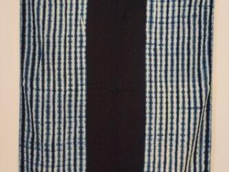 藍染 バスタオル リーフの画像