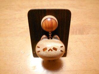 M様ご注文品 ネコノカミ勲章(楓縮み杢×山桜老木)の画像