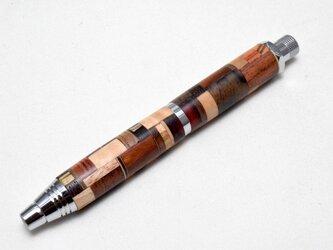 【寄木】手作り木製スケッチ用ドロップ型芯フォルダ(5.6mm)の画像