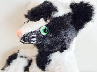 シャトン・オレオ 子猫のぬいぐるみ ブチねこ こねこ ぶちこの画像
