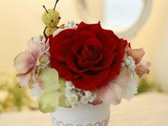 日本初!プリザーブドフラワー Abeille アベイユ お誕生日 還暦祝い 長寿のお祝い 新築祝い 結婚祝い 贈り物におすすめの画像