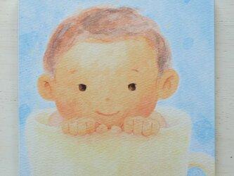 アートパネルNo.26「スープカップぼうや」の画像