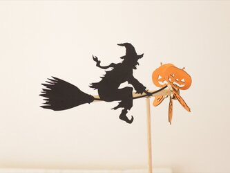 年老いた魔女の風向計 ハロウィンの画像