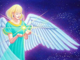 天使のブックカバー 艶肌/カラータイプ ゆったり文庫本サイズ 水や汚れに強く丈夫!! ワックスペーパーの画像