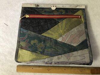 着物で作る*財布 (パッチワーク)の画像