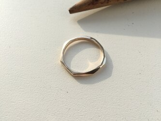 -SOLD OUT- simple gold ring No.3(k10)の画像