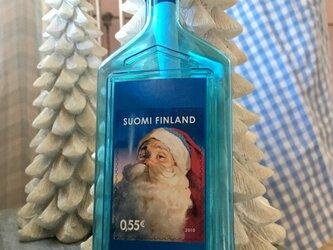 Christmas bottlepost (letter bottle)FINLANDの画像