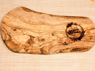 オリーブウッド カッティングボード 〜オリジナルの名入れで世界に1つだけの作品へ〜の画像