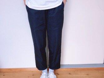 【受注生産】イージーチノパンツ  ネイビーの画像