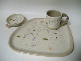 【SALE】niku・Q Plate & Cup (E)の画像