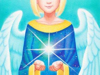 天使と妖精 光沢紙ポストカード 2枚セットの画像