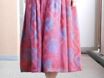 特別価格★しなやかアンティーク羽織リメイクスカートの画像